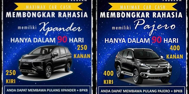 MARKETING PLAN BISNIS MAXIMAX – MAXIMAX CAR CASH PROGRAM – MCC 2018